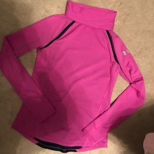 Under armour running pullover